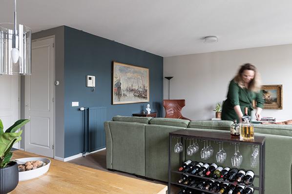 Jennifer Colajezzi richt een appartement in in het centrum van Utrecht