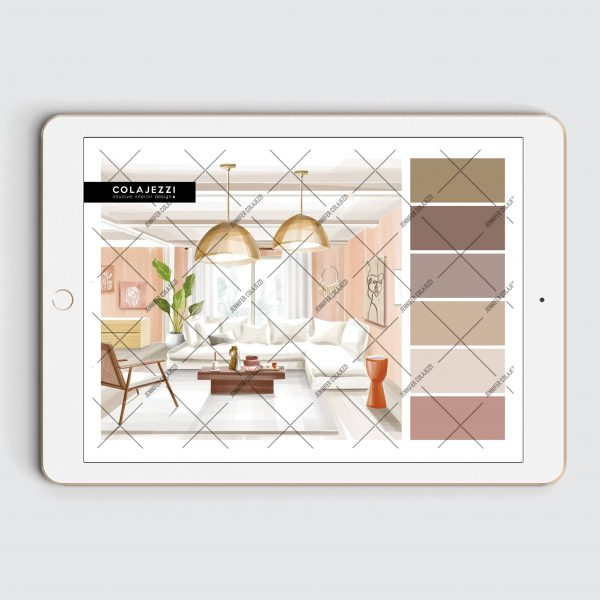 Jennifer Colajezzi - Digitaal Kleurenpalet - Earth Tones