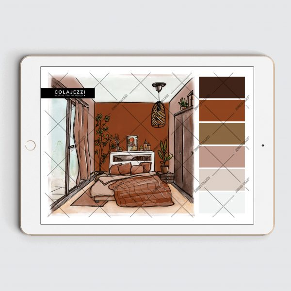 Jennifer Colajezzi - Digitaal kleurenpalet - Trendy Terracotta