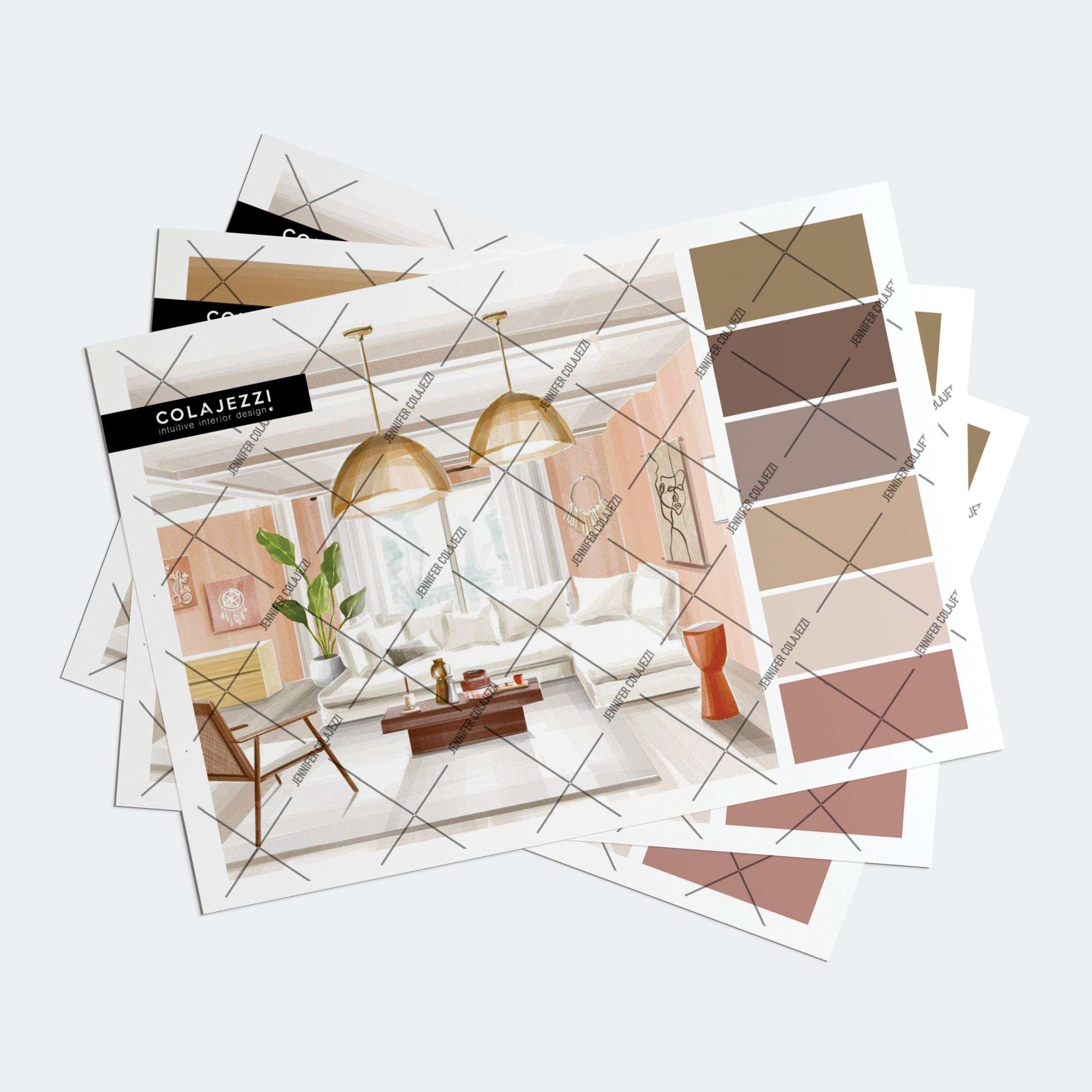 Jennifer Colajezzi - Fysiek kleurenpalet - Earth Tones