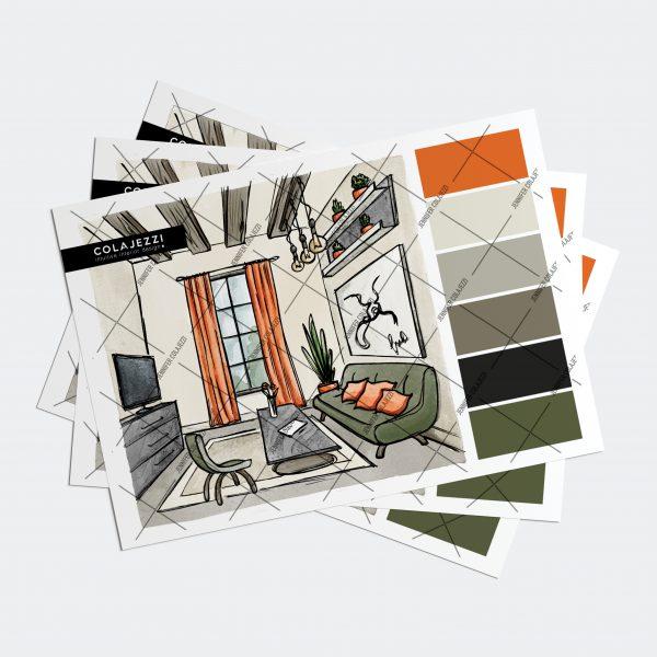 Jennifer Colajezzi - Fysiek kleurenpalet - Forest Hues