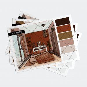 Jennifer Colajezzi - Fysiek kleurenpalet - Trendy Terracotta